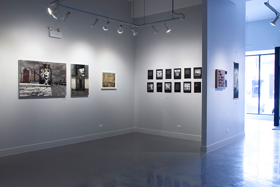 Image: Installation view of